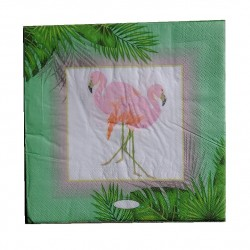 Decoupage paper - Flamingo