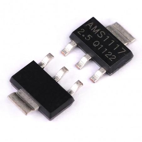 4 New parts AMS1117 AM1117 LM1117  1.5V 1A Voltage regulators Qty