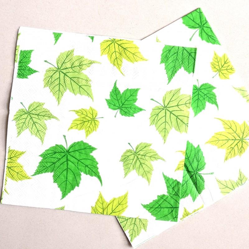 Decoupage paper , Leaves
